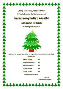 Szép karácsony díjazottjai 2019.