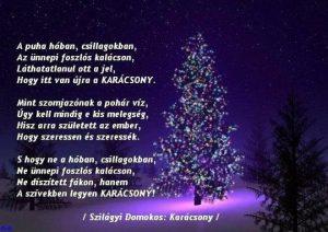 Szilágyi Domokos - Karácsony