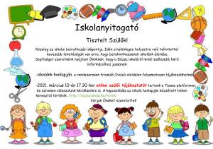 Iskolanyitogató-2
